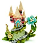 FAIRY CASTLE MINIATURE TEAPOT by WEE-OOAK-MINIATURES