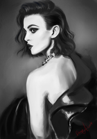 2 hour portrait practise by Kaizoku-hime