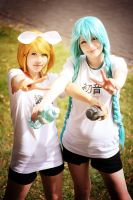 Vocaloid - School Sports Festival by acophoto