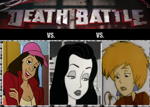 Death Battle-Chris vs Tanya vs Amy by EarWaxKid