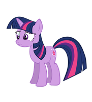 Twilight Sparkle Vector (my very 1st ever!!) by TryHardBrony