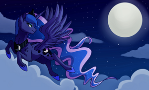 Princess of the night. (+SPEEDPAINT) by hikariviny