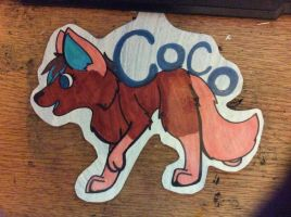 Coco Badge by Pure-Escapism