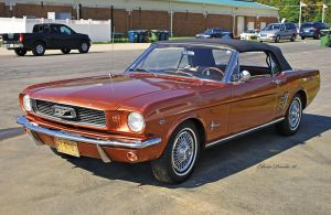 1966 Ford Mustang by E-Davila-Photography