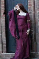 Medieval Burgundy Stock by DanielleFioreModel