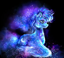 Crystal Pony: Princess Luna by ElkaArt