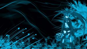 Black Rock Shooter  Abstract wallpaper by TheNovaDivine