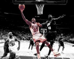 Amazing Michael Jordan Picture by Burgundy-And-Gold