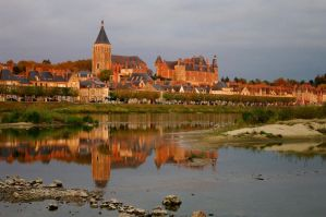 Gien in the evening Light by Toothrot