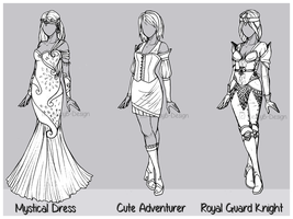Outfit Design : Batch 6 (CLOSED) by JessyB-Design
