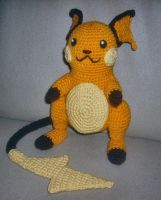 Raichu Plush by W0IfDreamer