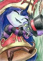 Lulu Sketch Card by geardrafter