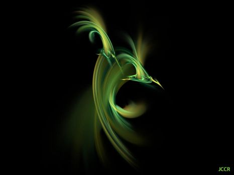 Hal, The Boomerang Bird Of Angry Birds by jccrfractals