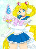 Princess Sailor Moon by Sailor-Serenity