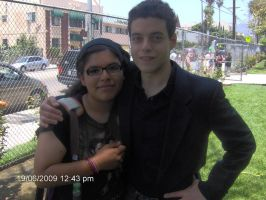 Rami Malek and Me by Jenrenegade