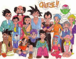 Dragonball GT group by Veronik1982