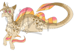 Tropical Fish Dragon [FOR SALE] by Silverzan