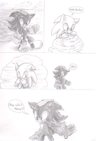 Sonadow: Forbidden Feelings Comic 1 by sonicartist16