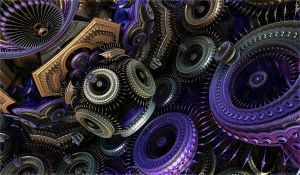 Coloured gears by Andrea1981G