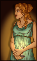 Psyche's Candle by andi-scribbles