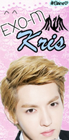EXO-M Kris Bookmark [PNG] by xElaine