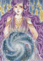 wisdom ACEO by PiuPiuThePENGUIN