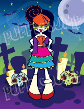 Puffle Day of the Dead by Pufflebump