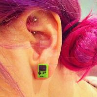Gameboy Studs by darondoodles