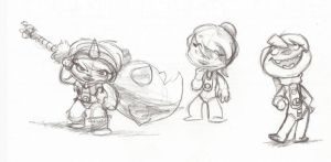 LBP Sack-girls doodle by fnook