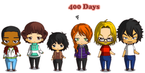 The walking dead 400 days by Princess-Riko