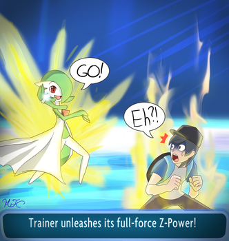 Trainer Unleashes its Z-Power! by HampTC