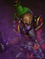 Singed colored by sykoeent