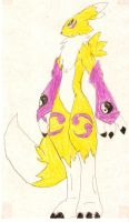 Renamon 21 color by luvini