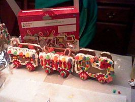 Gingerbread Train by ChozoBoy