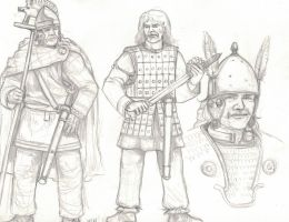 a bunch of Gauls by residentsmooth