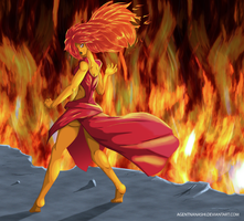 Flame Princess Smoking Hot by AgentNanashi