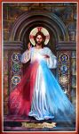 Divine Mercy - St. Francis of Assisi Parish by Theophilia