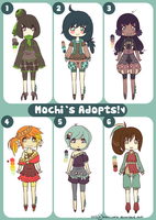 ||Chibi batch 2 |$5.00 Each| 4/6 Left!|| by Gebakje