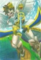 -Kid Icarus- Pit by TwilightMoon1996