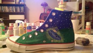 Ocarina of Time Converse by Sitokinesis