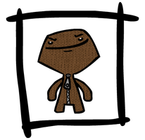 Sackboy by midnightheist