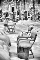 Winter Cemetery by tomsumartin
