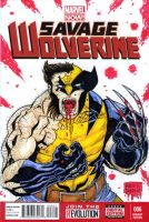 Wolverine sketch cover Auction by mdavidct