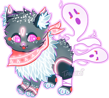 Spirit Kitty: Adoptable Auction [CLOSED] by TanukiAdopts