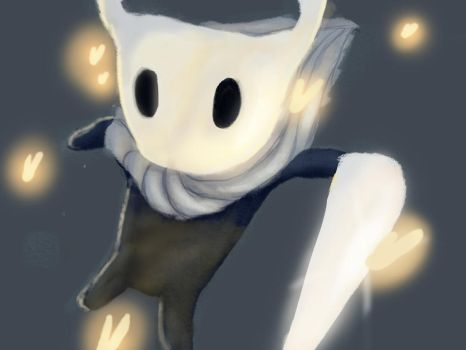 Hollow knight fanart by praslar