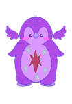 Twilight Sparkle Penguin - MLP by ParallelPenguins
