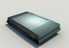 Nintendo DS low-poly model by MechaSlinky