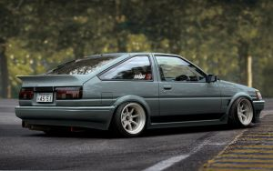 AE86 Levin Hatch by BramDC