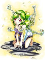 Crouching fairy- by fluffy-fuzzy-ears