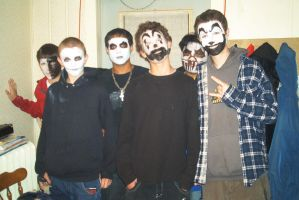 Me and the Juggalos by frumpy